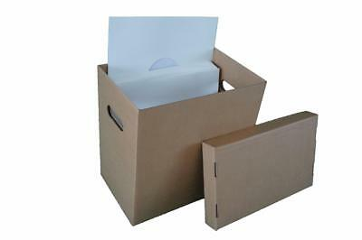 "6 x 12"" Vinyl Record Storage Box LP's or 12"" Singles"