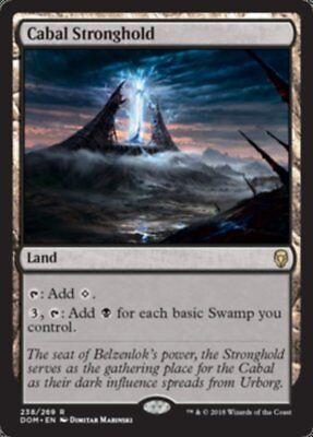 MTG 1x Cabal Stronghold - DOM - Dominaria FREE SHIPPING!