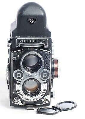 Rolleiflex f3.5 F Model 3 with 75 mm. Carl Zeiss Planar lens + Prism (4153G)