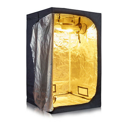 600D Mylar 48''x48''x80'' Grow Tent Room for Hydroponics Indoor Plant Growing