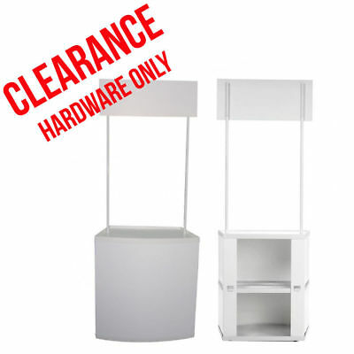Promotional Counter HARDWARE ONLY-Pop Up Banner Stand Portable Display