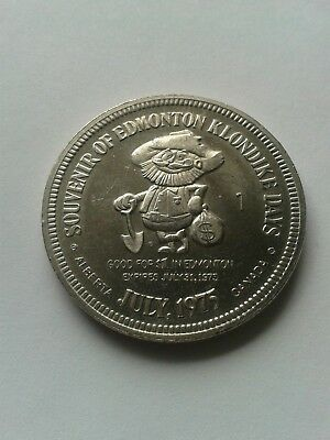 July 1975 Klondke Days $1.00 (CANE) End of the Steel Token Coin