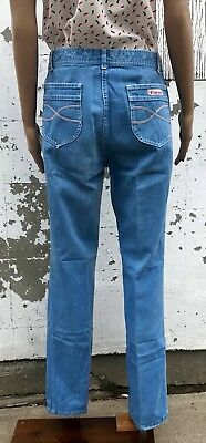 Vintage Blue Jeans 70s High Waist Pizzazz New York Free Shipping