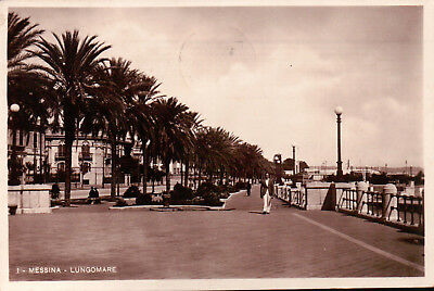 1939 Cartolina Di Messina - Lungomare -