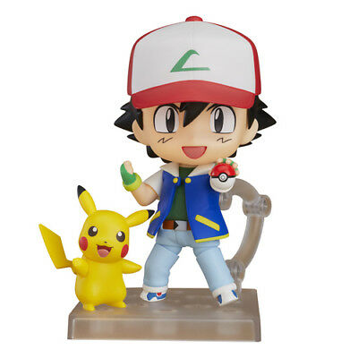 POKEMON - Ash & Pikachu Nendoroid Action Figure # 800 Good Smile