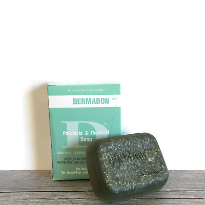 Dermabon Psoriasis and Dandruff Soap FREE SHIPPING