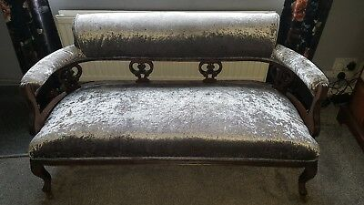 Edwardian two seater sofa