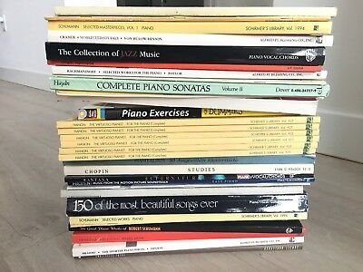 175+ Piano Music Books - Classical, Urtext, All Music Levels