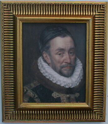 William the Silent  Framed Oleograph  R575#E Reproduction Picture