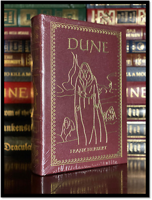 Dune by Frank Herbert New Sealed Leather Bound Deluxe Collectible Gift Edition