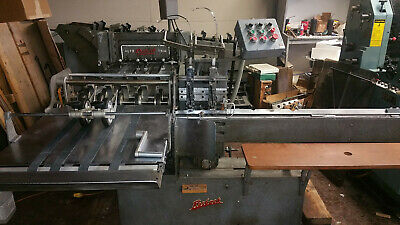 Rosback 202T Collate - Stitcher - Three Knife Trimmer