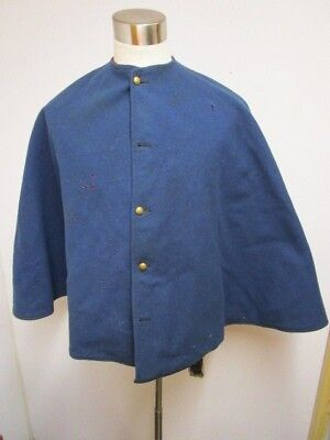Original Post Civil War 1870's ~ 80's USMC / Marine Corp Red Lined Frock Cape