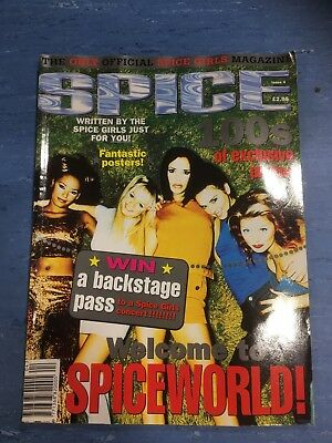 Issue 4 The Only Official Spice Girls Magazine