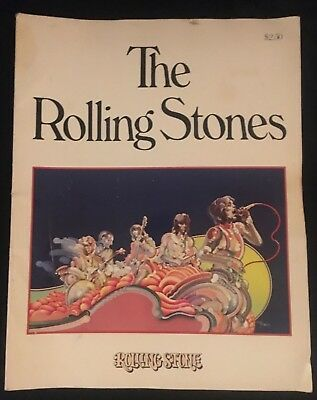 1975 THE ROLLING STONES by Rolling Stone Magazine VG+ 4.5 Straight Arrow Photos!