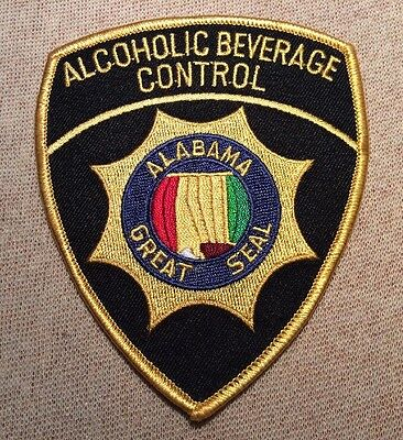 AL Alabama Alcoholic Beverage Control Patch