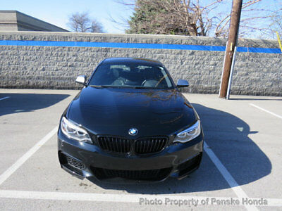 BMW 2 Series M235i M235i 2 Series Low Miles 2 dr Coupe Automatic Gasoline 3.0L Straight 6 Cyl BLACK