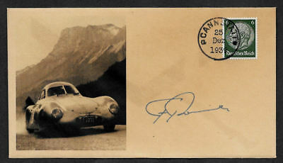 1939 Porsche 64 Collector Envelope w Original Period 1930s Stamp *OP1165