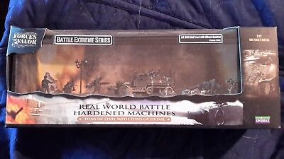 Forces Of Valor U.s. M3A1 Half Track W/105Mm Howitzer Mint In Original Box 1/72