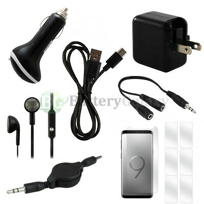 12 pc Super Value FAST CHARGING Phone Starter Bundle Kit for Samsung Galaxy S9