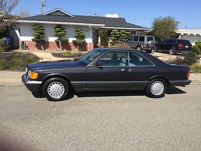 1991 Mercedes-Benz 500-Series 560 sec 1991 Mercedes 560SEC Coupe 137,000 Miles