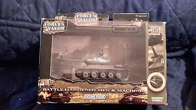 Forces Of Valor Russian T-34/85 Tank Mint In Original Box 1/72
