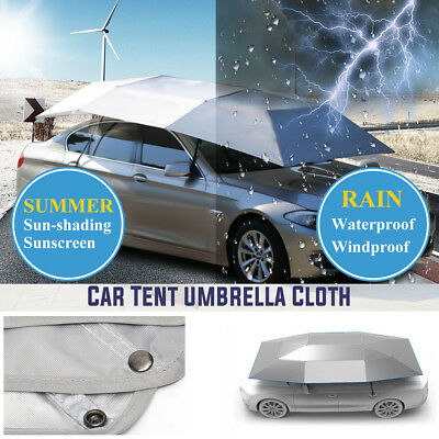 4 x 2.1m Automatic Car Roof Cover Umbrella Sunshade Roof Tent UV Protection AU