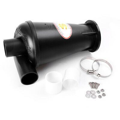 3rd Generation Cyclone Dust Collector Turbo Charging SN50T3 With Flange Black