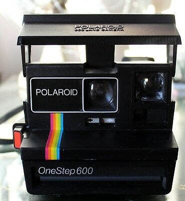 Vintage Polaroid One Step 600 Camera