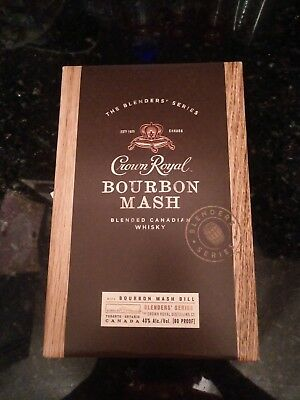 crown royal burbon mash