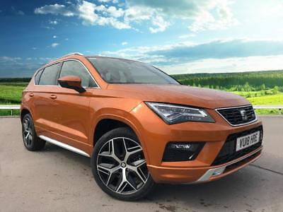 2018 seat ateca 2 0 tsi fr dsg auto 4 drive 190 ps 19 inch exclusive machined 25. Black Bedroom Furniture Sets. Home Design Ideas