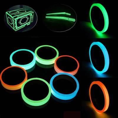 PVC Glow In The Dark Sticky Tape Self Adhesive Luminous Saftey Film Sticker Roll