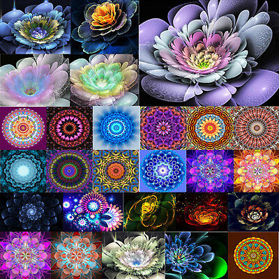 Fantasy Flower 5D Diamond Painting Needlework Embroidery Cross Stitch DIY Decor