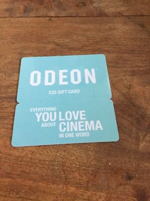 odeon cinema 25 voucher gift card plus 2 adults and 2 children tickets picclick uk. Black Bedroom Furniture Sets. Home Design Ideas