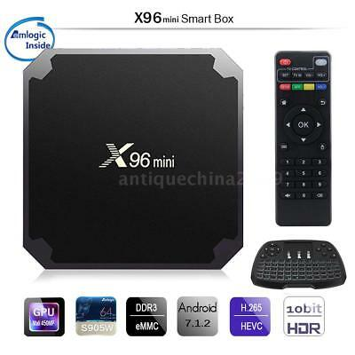 X96 Mini TV Box Android 7.1.2 Amlogic S905W Quad Core WiFi HD 2GB 16GB 4K Player