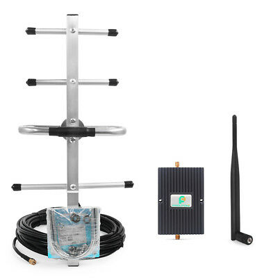 Verizon 4G Data LTE 700MHz Cell Signal Booster Phone Booster Repeater + 2Antenna