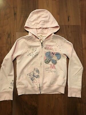Girls pink hooded jacket from Next age 9 in great condition