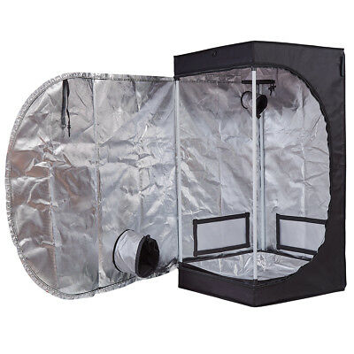 600D Mylar 24''x24''x48'' Grow Tent Room for Hydroponics Indoor Plant Growing