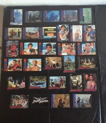 30 Figurine/cards Bifacciali Street Fighter Capcom 1994