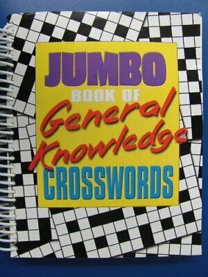 Jumbo Book of General Knowledge Crosswords (Jumbo 320 PBSCW) Spiral bound Book
