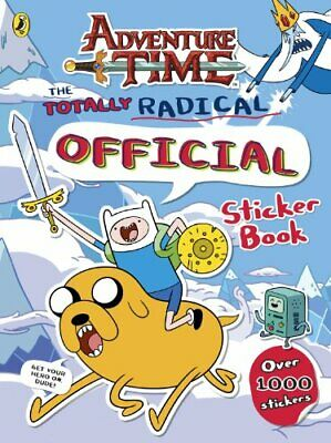 Adventure Time: The Totally Radical Official Sticker Book Book The Cheap Fast