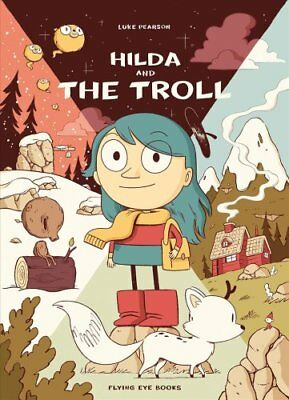 Hilda and the Troll by Luke Pearson 9781909263789 (Paperback, 2015)