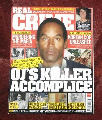 Real Crime Magazine Issue 25 Brand New