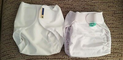 Motherease and Tots bots nappy wraps size 2/m