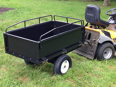 GARDEN TRAILER  - 350kg Tipping Lawn Mower