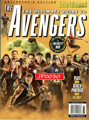 Entertainment Weekly 2018, The Ultimate Guide to Avengers, Brand New/Sealed