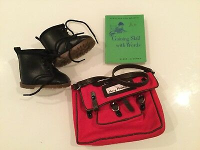American Girl Molly McInTire Doll Bookbag and Accesories