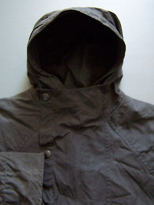 W.K. Backhouse Hooded Jacket Men's Large C42 107cm Green Pre Barbour Vtg BBS865