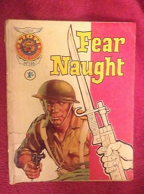 """LION PICTURE LIBRARY No. 82 - """"FEAR NAUGHT""""  - 1969"""