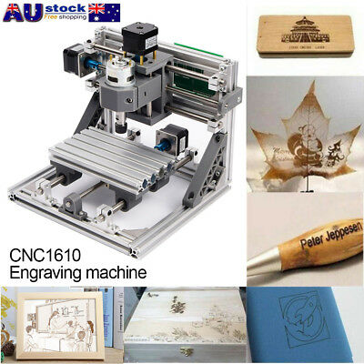 3Axis Mini DIY CNC Wood Engraving Carving PCB Milling Machine Router Engraver