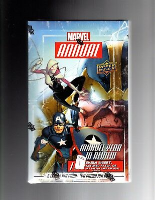 2016 Upper Deck  Marvel Annual  sealed Box